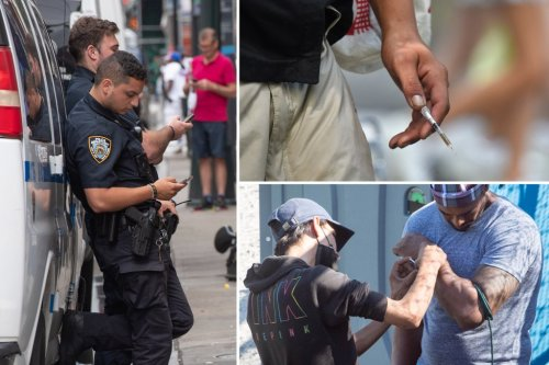 Albany police, NYPD order cops to do nothing as drug addicts shoot up