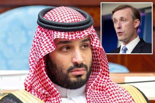 Biden national security adviser Sullivan to meet with Saudi Crown Prince