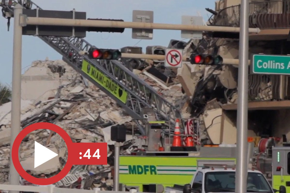 Death toll rises as bodies removed from collapsed condo