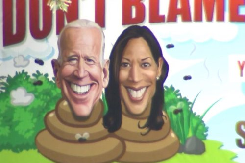 Controversial billboard calls Biden, Harris 's–theads' in Maryland