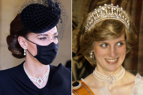 Kate Middleton honors Queen Elizabeth, Princess Diana with pearls