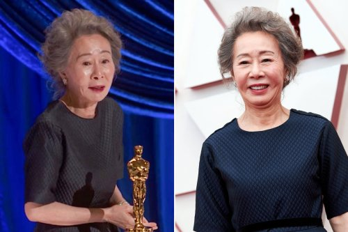 Here's what 'Minari' star Yuh-Jung Youn said about Brad Pitt after her Oscars win