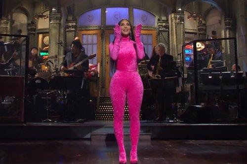 Kim Kardashian's 'SNL' takes fearless shots at Kanye, Kris, sex tape and more