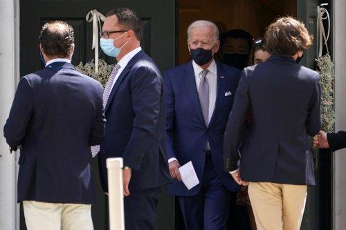 Joe Biden, family attend confirmation of grandson in Delaware