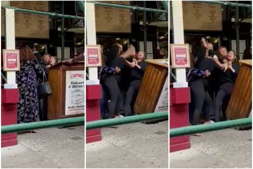 Video shows tourists attack NYC restaurant hostess over vax proof