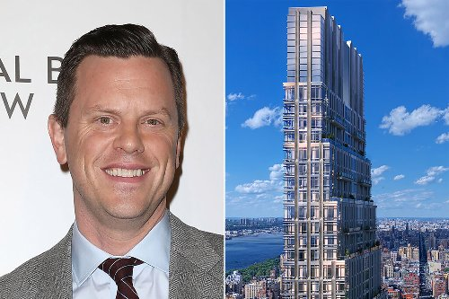 NBC anchor Willie Geist spied home shopping in UWS' priciest new tower