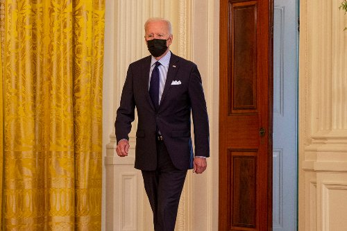 Snarky Biden snaps at reporter who asked about mask use: 'I'm worried about you'