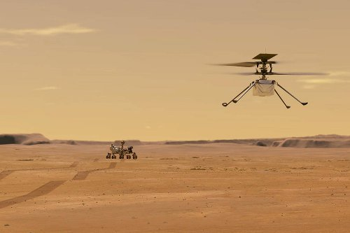 NASA releases 3D video of Ingenuity Mars Helicopter flight