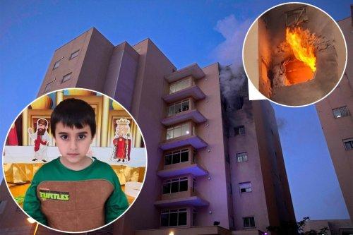 Israeli boy, 5, killed by Hamas rocket in border town near Gaza