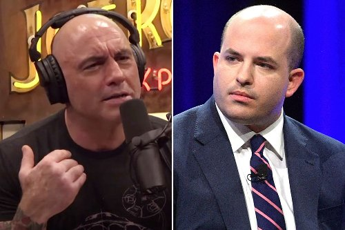 Joe Rogan savages CNN's Brian Stelter and his 'f–king terrible' show