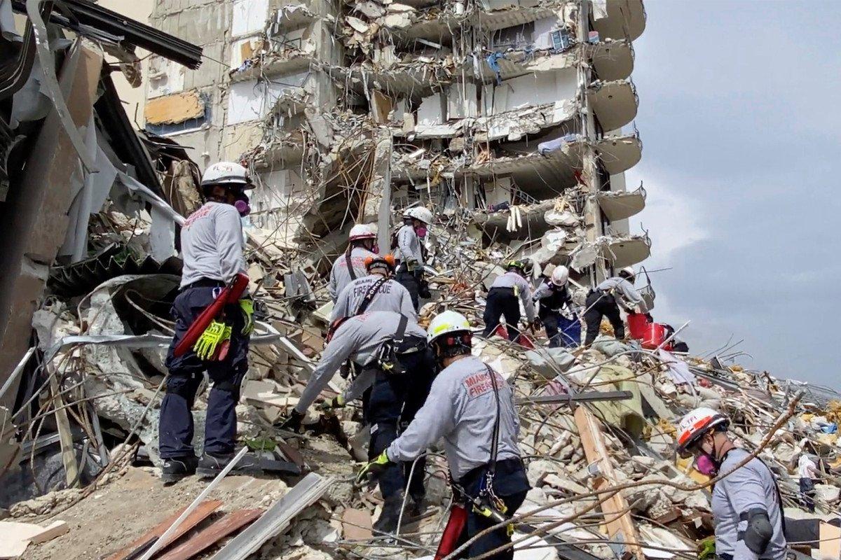 Florida condo searchers face 9/11-like health risks, ex-FDNY commissioner says