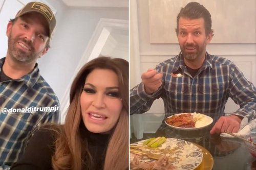 Donald Trump Jr. says he's 'Rona' free and celebrating Thanksgiving