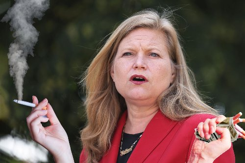 Pack-a-day puffer Kathryn Garcia would be first cigarette-smoking mayor since '65