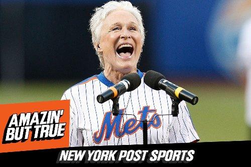 Listen to Episode 44 of 'Amazin' But True': Talking Mets Fandom, Movies with Glenn Close