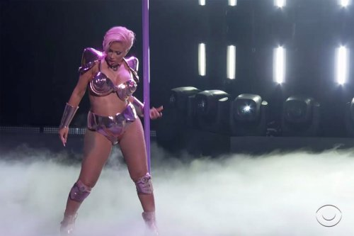 Cardi B's 2021 Grammys performance gets X-rated with stripper pole dancing