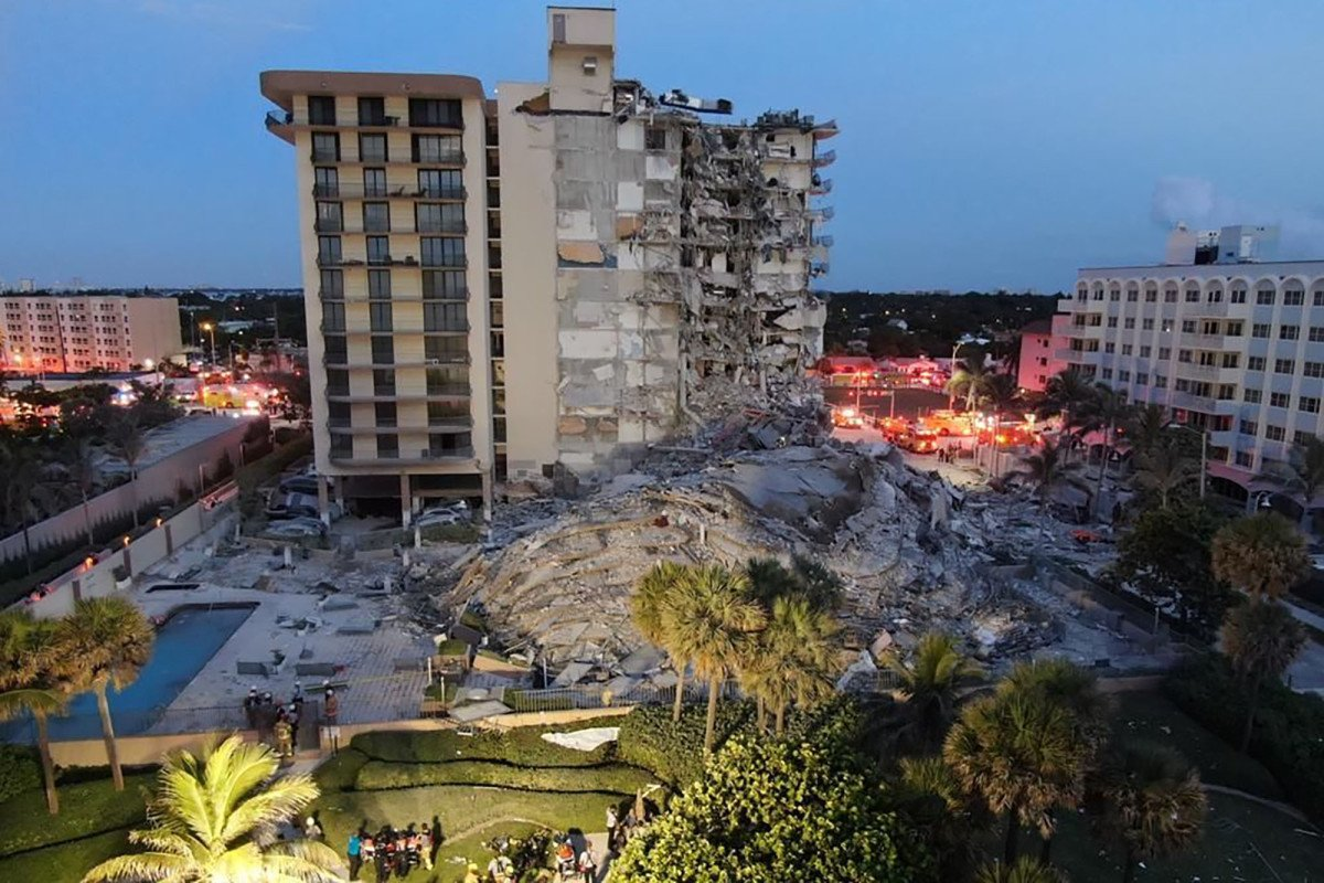 Pregnant mom and 1-year-old girl among the 159 still missing in Florida condo collapse