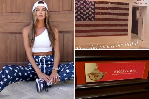 Jena Sims takes you behind the scenes at Ryder Cup: It's 'like Christmas'