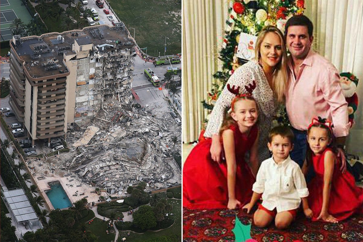 Sister-in-law of Paraguay's president and her family missing in condo collapse