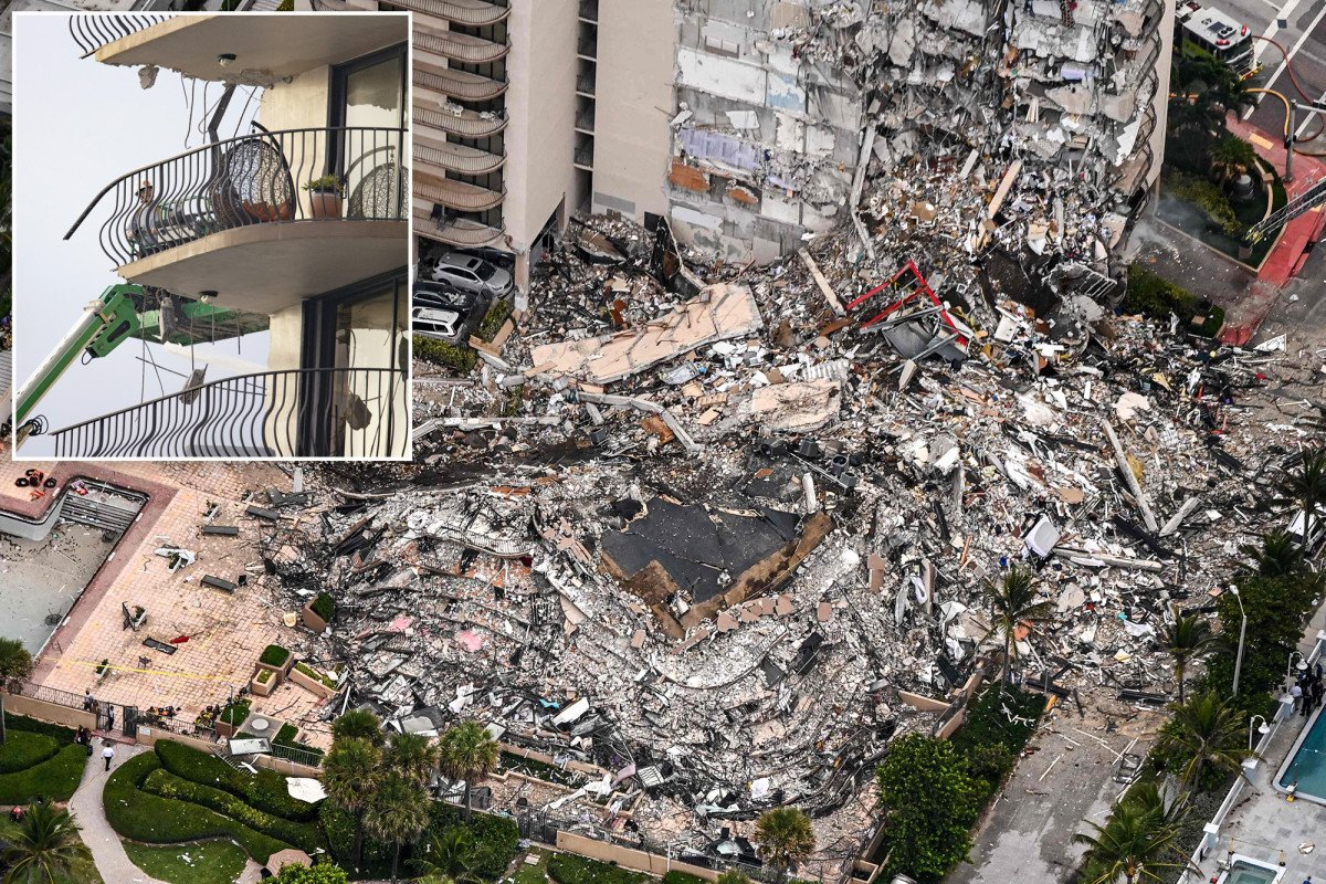 Lawsuits were reportedly filed about cracks in Florida tower that collapsed