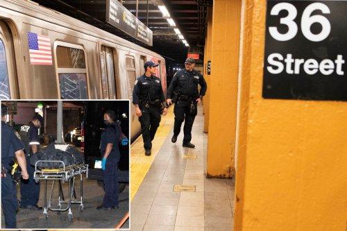 Man falls to death walking between subway cars in Brooklyn