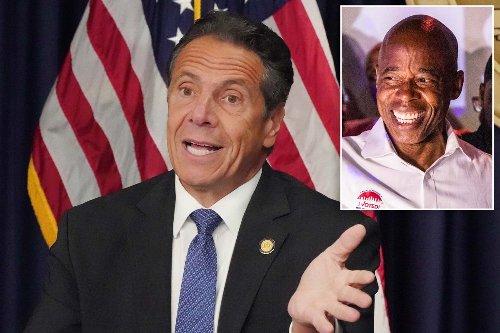 Gov. Cuomo hails Adams, blasts de Blasio after NYC mayoral primary