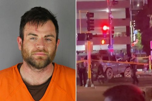 Driver accused of plowing into Minneapolis protesters has five prior DWIs