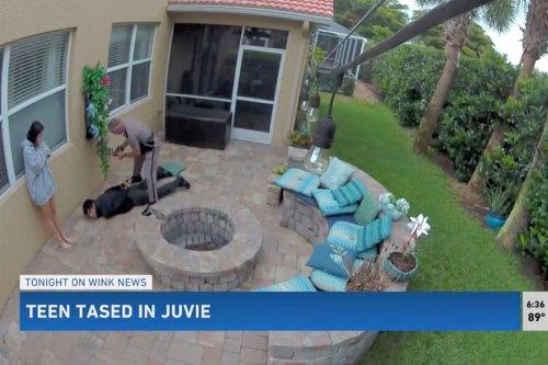 Florida teen tased in girlfriend's backyard in case of racial profiling, mother says