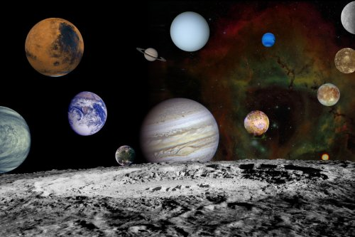 7 planets in solar system will be visible in the night sky this week