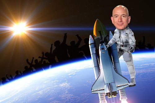 Thousands call for Jeff Bezos to be denied re-entry to Earth after space launch
