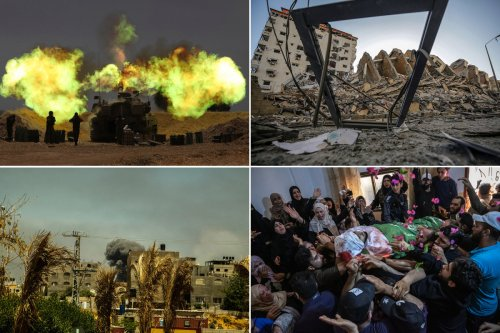Fighting between Israel and Palestinians in Gaza is worst since 2014 war