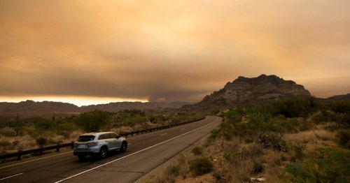 Hottest Temperatures in Arizona and Nevada History Are Possible