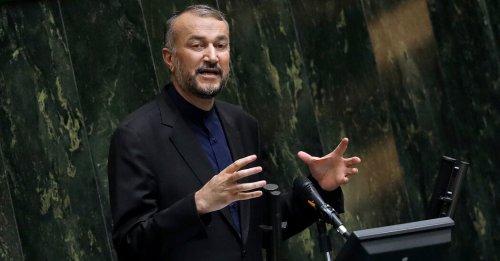 Rebuking Biden, Iran's Chief Diplomat Demands More Sanctions Relief