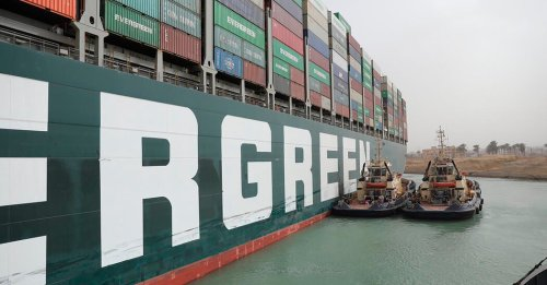 Giant Ship Blocking Suez Canal Could Take 'Days, Even Weeks' to Free