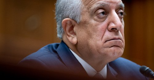 Zalmay Khalilzad, Biden's Envoy for Afghanistan, Steps Down