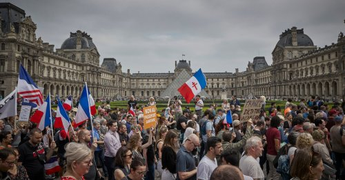 France's New Covid Rules Bring Protests and Record Vaccine Bookings