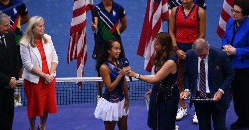 At U.S. Open, Leylah Fernandez Offers Moving Sept. 11 Remarks