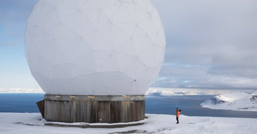 Here's the Arctic Station That Keeps Satellites Connected