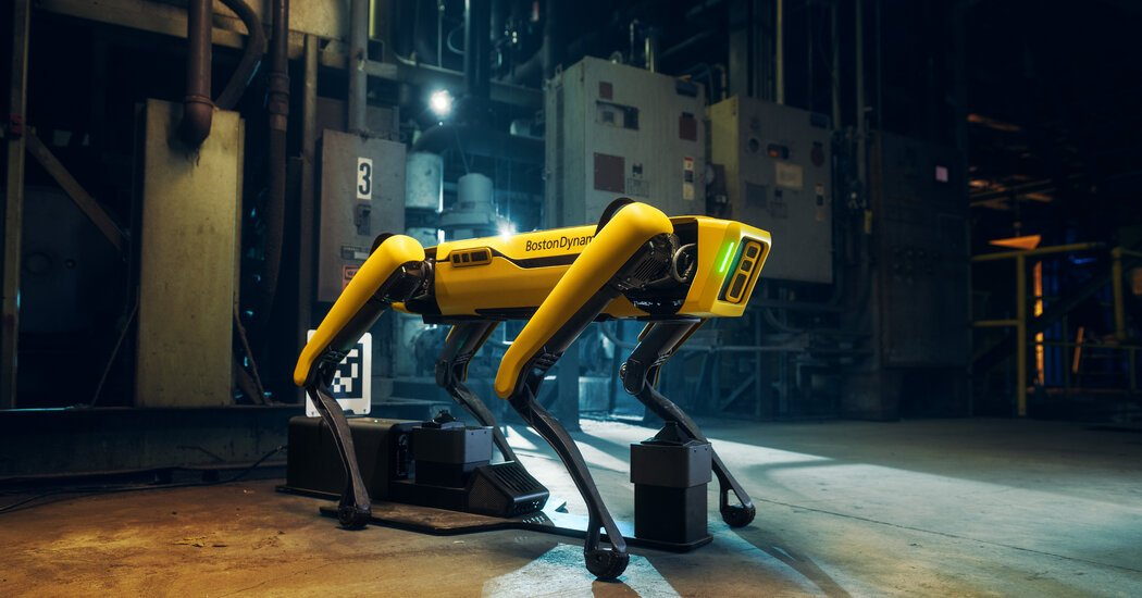 Digidog, a Robotic Dog Used by the Police, Stirs Privacy Concerns