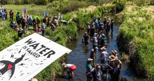 Biden Administration Backs Oil Sands Pipeline Project