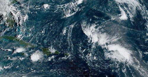Tropical Storm Peter Forms in the Atlantic Ocean