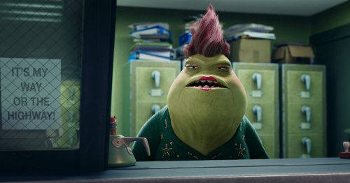 In 'Monsters at Work,' a Roz by Another Name Is Just as Sour