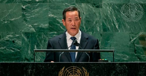North Korea Launches Short-Range Missile as Country's Envoy Speaks at U.N.