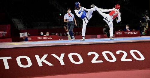 Kimia Alizadeh, Iranian Defector on Refugee Team, Beats Iranian in Taekwondo