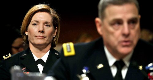 Promotions for Female Generals Were Delayed Over Fears of Trump's Reaction