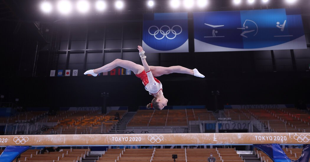 Meet the Russian Women's Gymnastics Team That Won Gold
