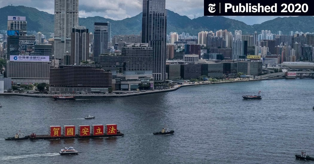 Hong Kong, Changed Overnight, Navigates Its New Reality (Published 2020)