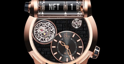 NFTs Arrive in the Watch World