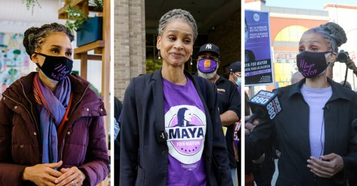 Maya Wiley and the Color Purple