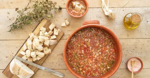 A Portuguese Artist's Chilled Tomato Soup