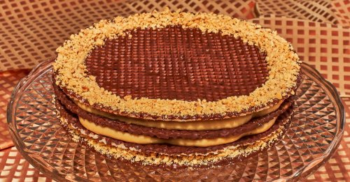 A Luscious Peanut-Butter Wafer Cake That Won't Give You a Toothache